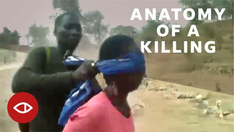 Anatomy of a killing. Capture d'écran. BBC Africa Eye