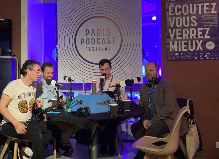 Table ronde Podcast mesure audience