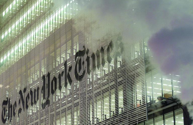 «The New York Times» ou quand l'empire contre-attaque