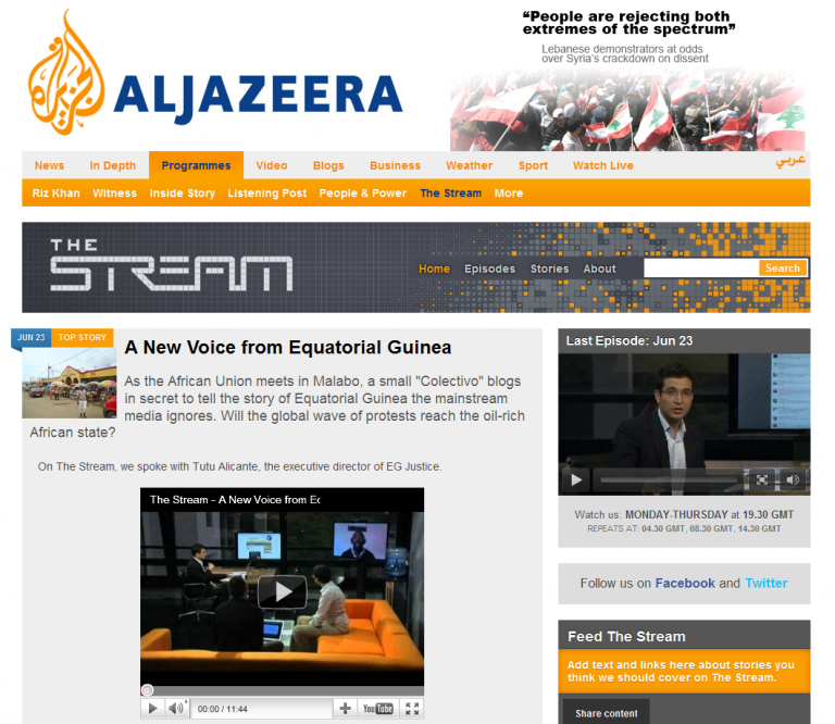« The Stream », la révolution médiatique signée Al Jazeera ?